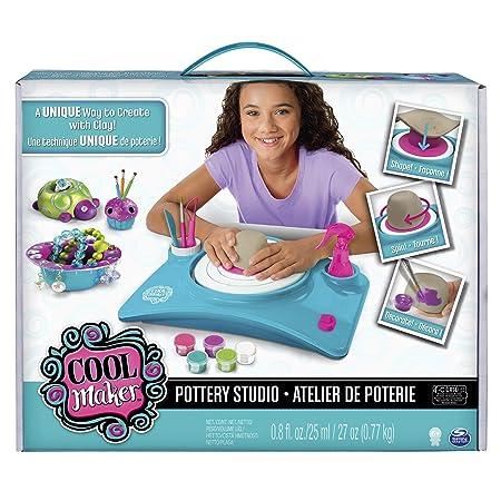 Cool Maker - Pottery Cool - 6027865 - Pottery Cool Studio – Töpferstudio – Töpferscheibe – Töpfern mit Gelinggarantie - Ton