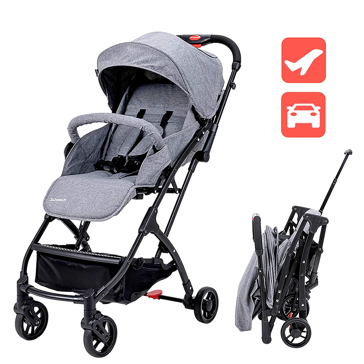Folding Outdoor Baby Infants Travel Safety Stroller Buggy Pushchair Tool 3 Color