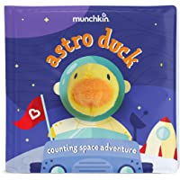 Munchkin Soapy Stories Finger Puppet Bath Book, Space
