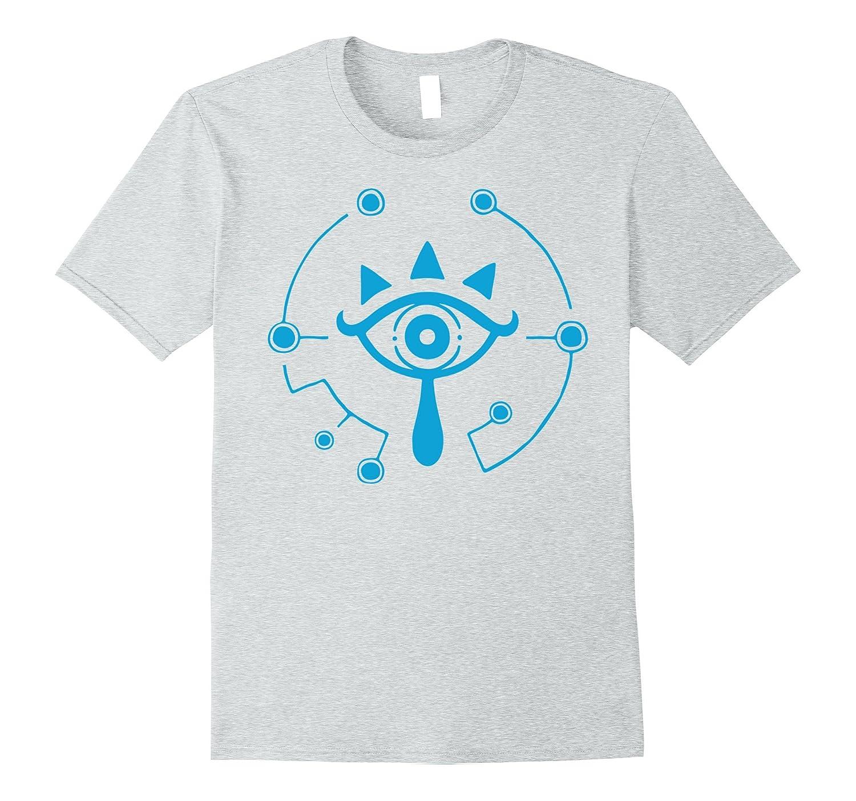 Nintendo Zelda Breath of the Wild Sheikah Eye Logo T-Shirt-alottee gift