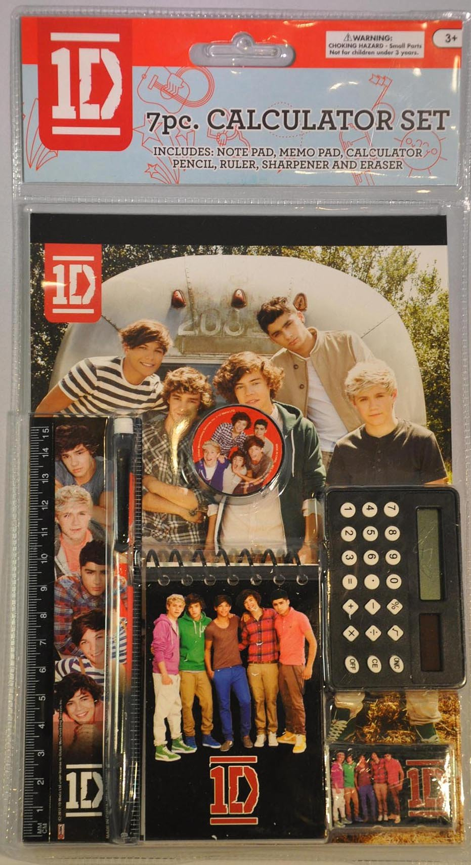 One Direction 7pc Calculator Set - 1D Stationary & School Supplies