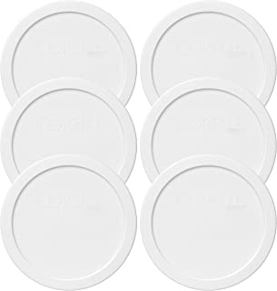 """product image for Corelle 428-PC 28oz 6.5"""" Round White Plastic Lid - 6 Pack"""