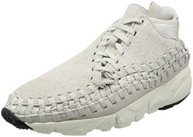 check out 766fa bea4e Nike Men s Air Footscape Woven Chukka QS, Light Bone Light Bone, 8 M