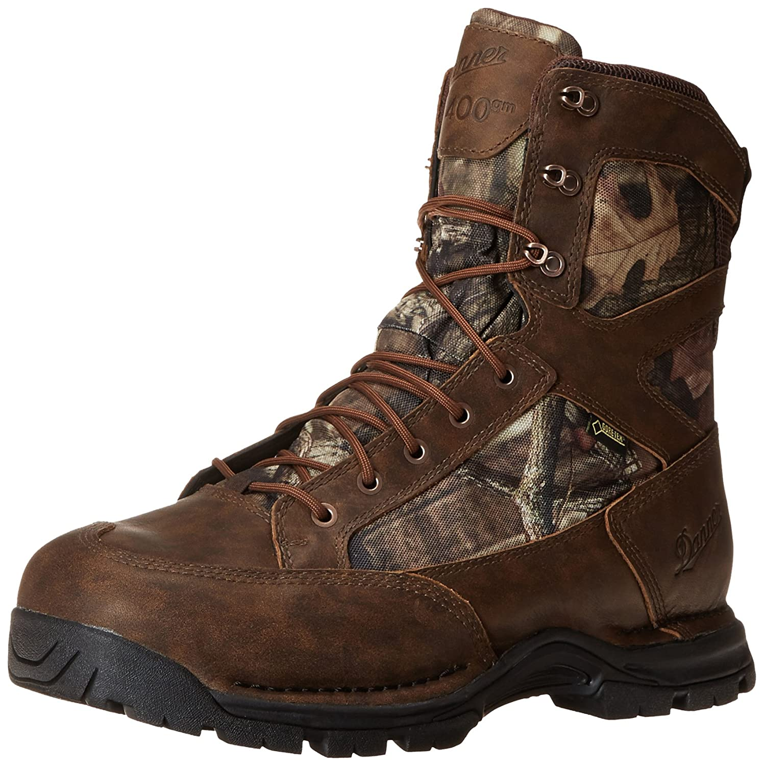 Mossy Oak Break Up Infinity Brown Danner Men's Pronghorn 8 Inch GTX 400G Hunting Boot