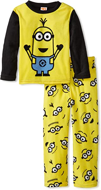 AME Despicable Me Boys 2-Pc Microfleece Sleepwear Set