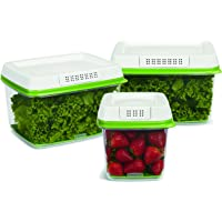Rubbermaid FreshWorks 3-Piece Food Storage Container