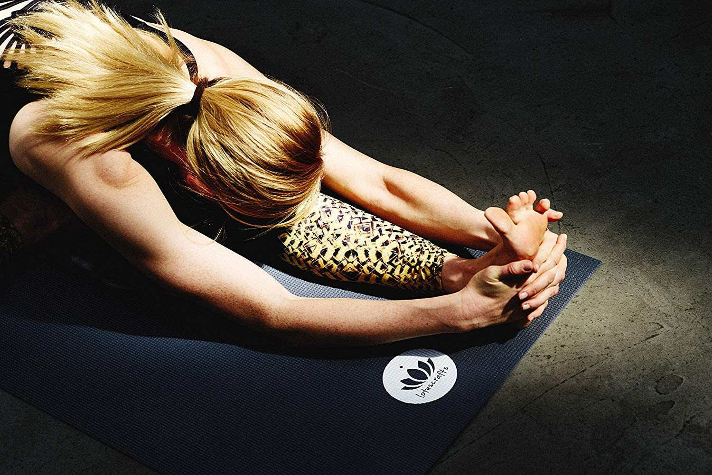 Esterilla Pilates y Yoga Lotuscrafts Esterilla Yoga Antideslizante Mudra Studio Alfombra Yoga Colchoneta Yoga Antideslizante Ecologica Eco Yoga Mat