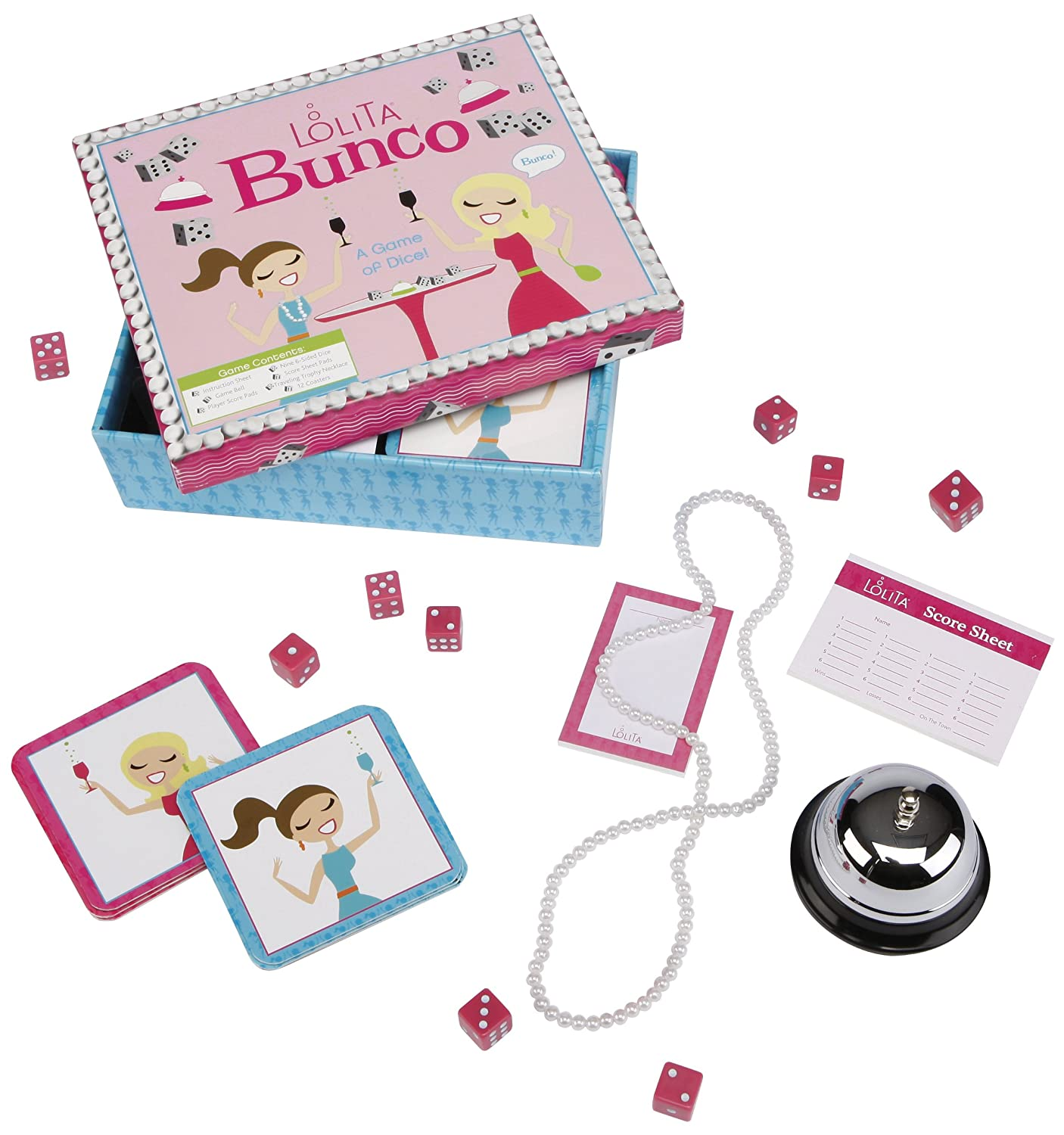 C.R. Gibson Lolita Bunco Game BDG-11242