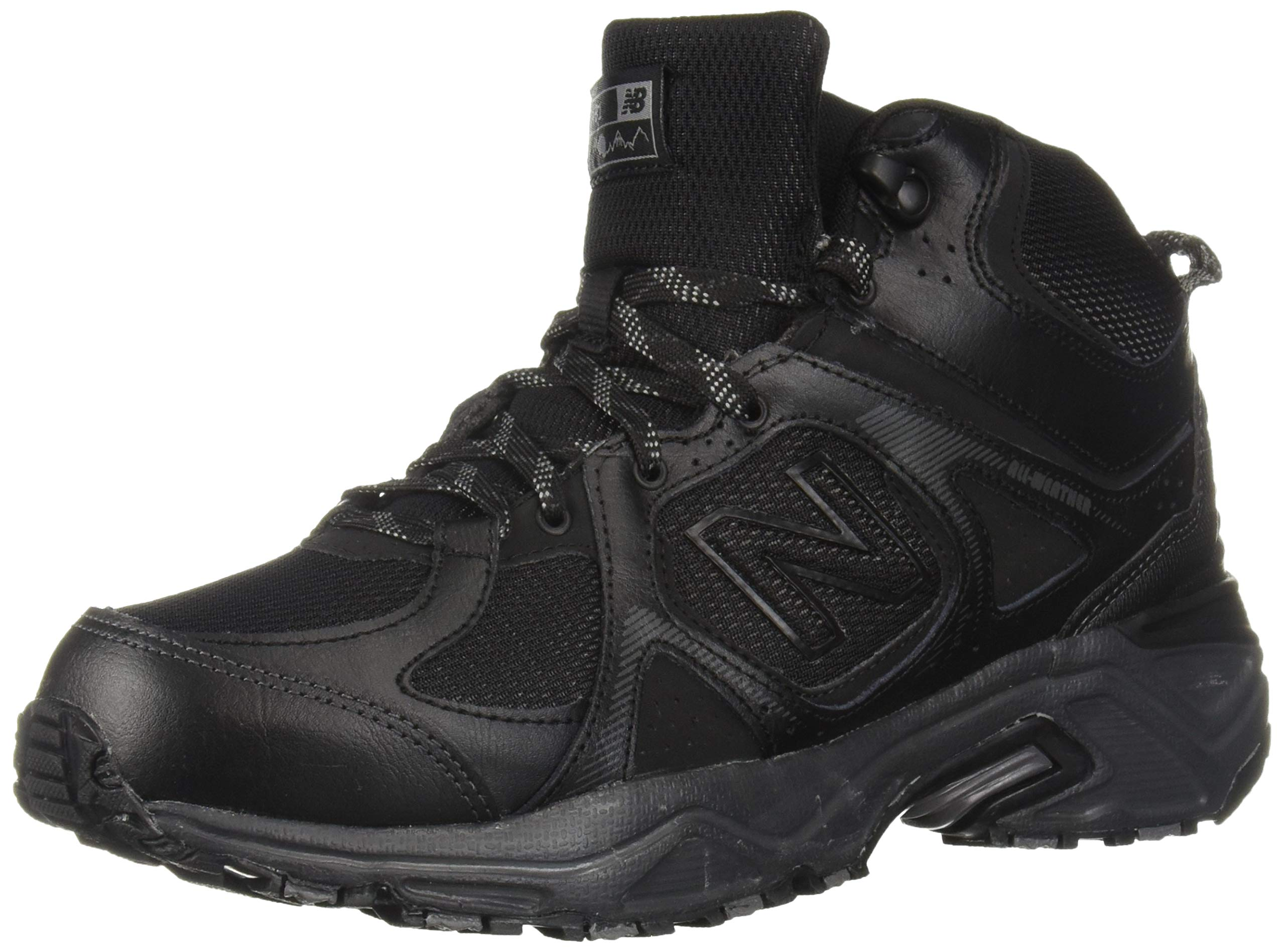 New Balance Men's 481 V3 Cushioning Trail Running Shoe, Black/Magnet, 8.5 D US by New Balance (Image #1)