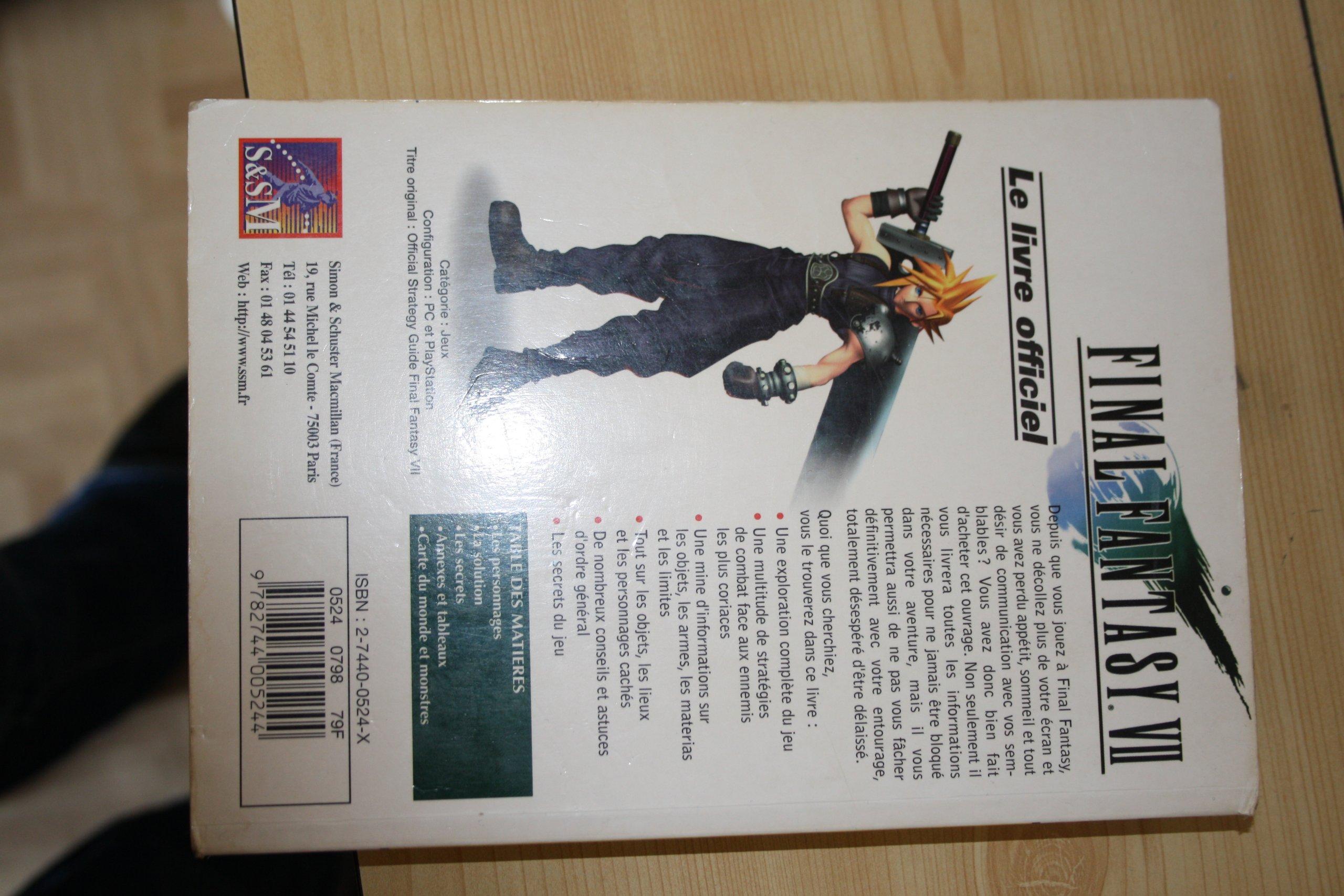 Final Fantasy Vii Guide Officiel 9782744005244 Amazon Com