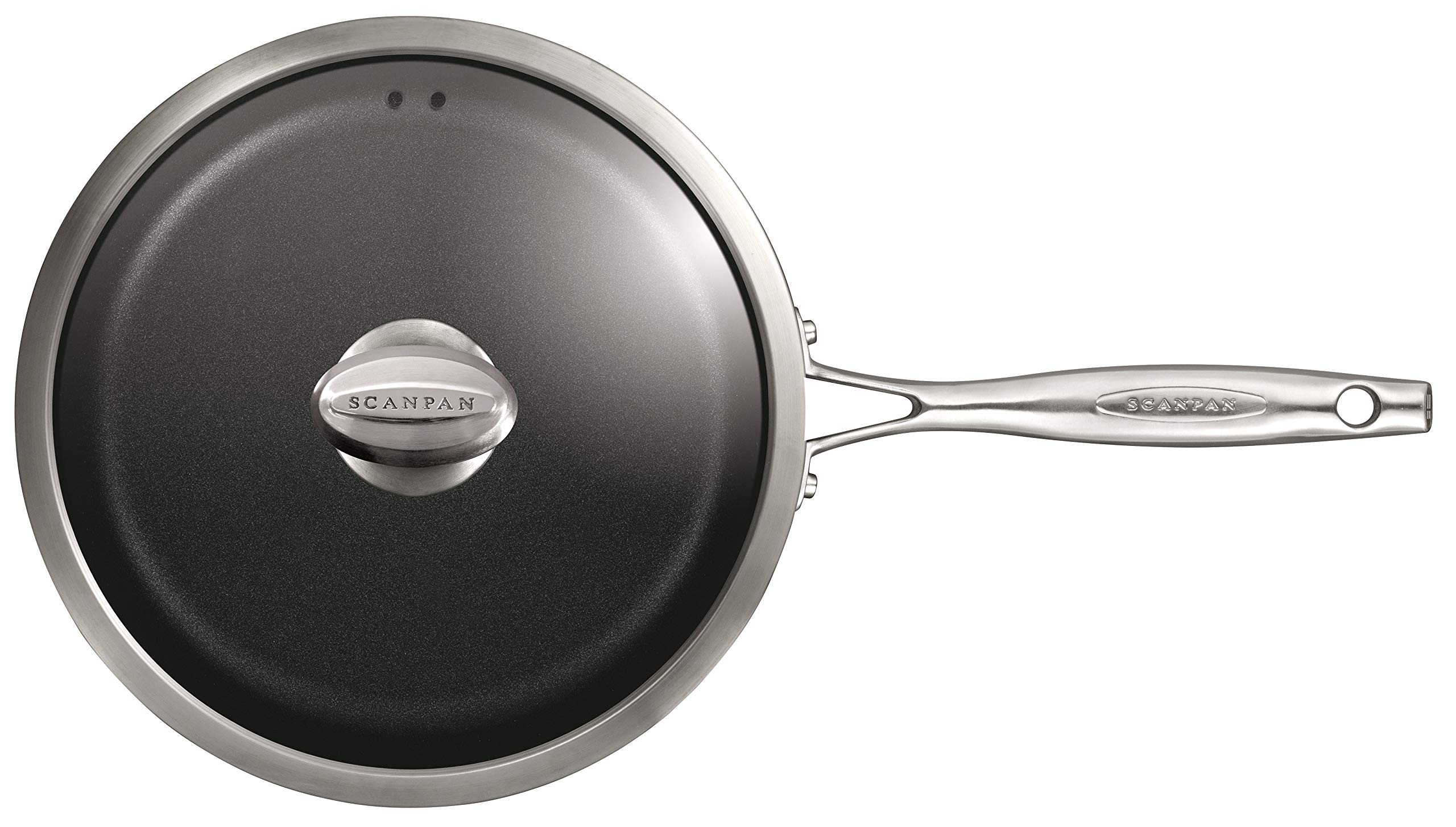 Scanpan PRO IQ Nonstick Covered Saute Pan, 2.75 quart, Black by Scanpan (Image #3)