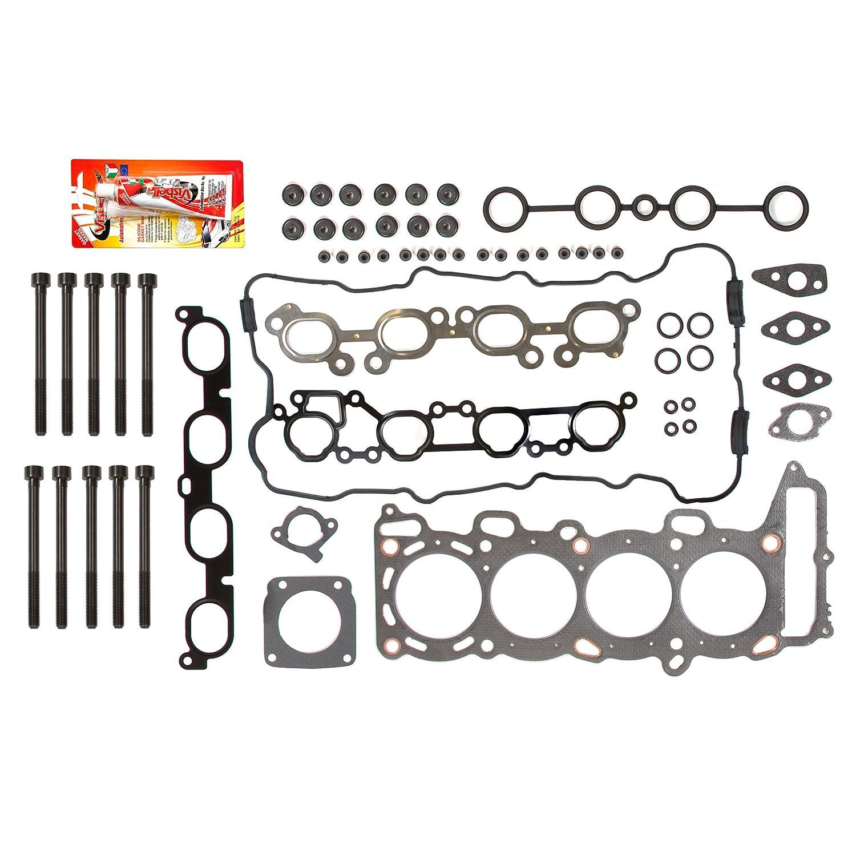 Fits 00-02 Nissan Sentra 2 0 SR20DE Head Gasket Set Bolts
