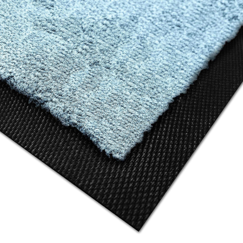 Casa pura Premium Fußmatte für Innenbereich Innenbereich Innenbereich   Schmutzfangmatte als Fußabtreter   mit Brandschutzklasse B1   in vielen Farben und Größen (Fuchsia B27-60x90 cm) B07KPGX56H Fumatten a596a3