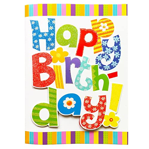 Happy Birthday Music Card Interactive Colorful Greeting Cards With To You Song For