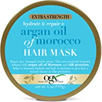 OGX Extra Strength Hydrate & Repair + Argan Oil of Morocco Hair Mask, Deep Moisturizing & Conditioning Treatment to fro…