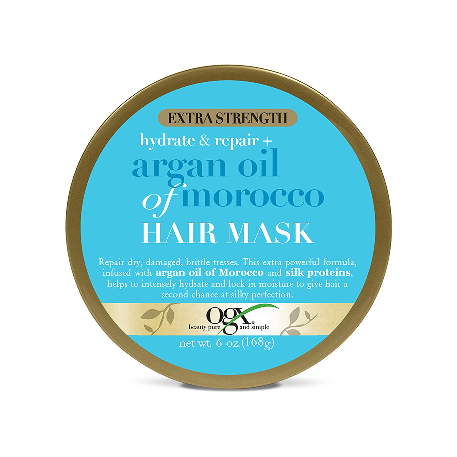 Ogx Extra Strength Argan Oil Of Morocco Hair Mask, 6 Oz