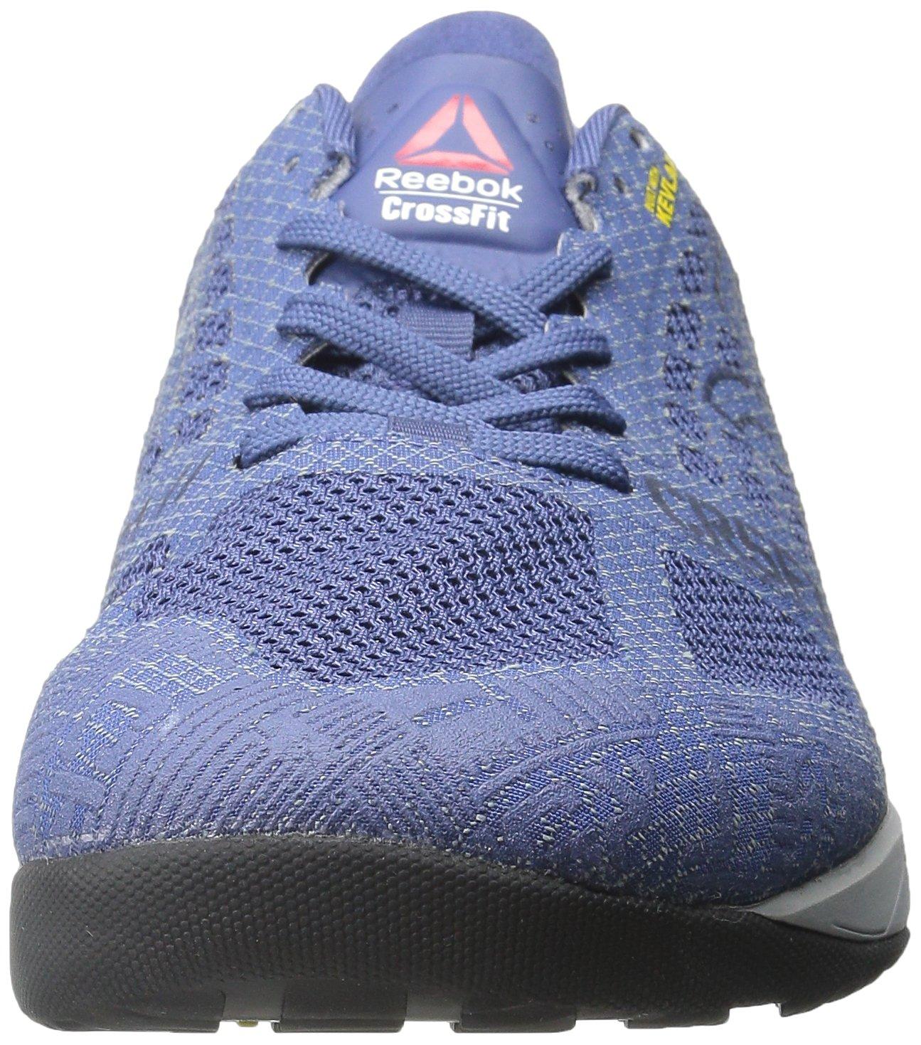 more photos 737a7 73cb1 Zapatillas de entrenamiento Reebok Crossfit Nano 5 para hombre Azul  medianoche   Azul marino colegial   Gris estaño   Tiburón   Negro