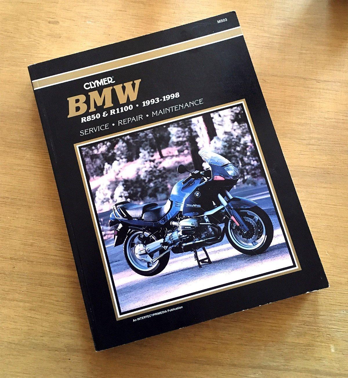 Clymer BMW R850 & R1100, 1993-1998: Service, Repair, Maintenance:  Amazon.co.uk: Anonymous: 9780892877201: Books