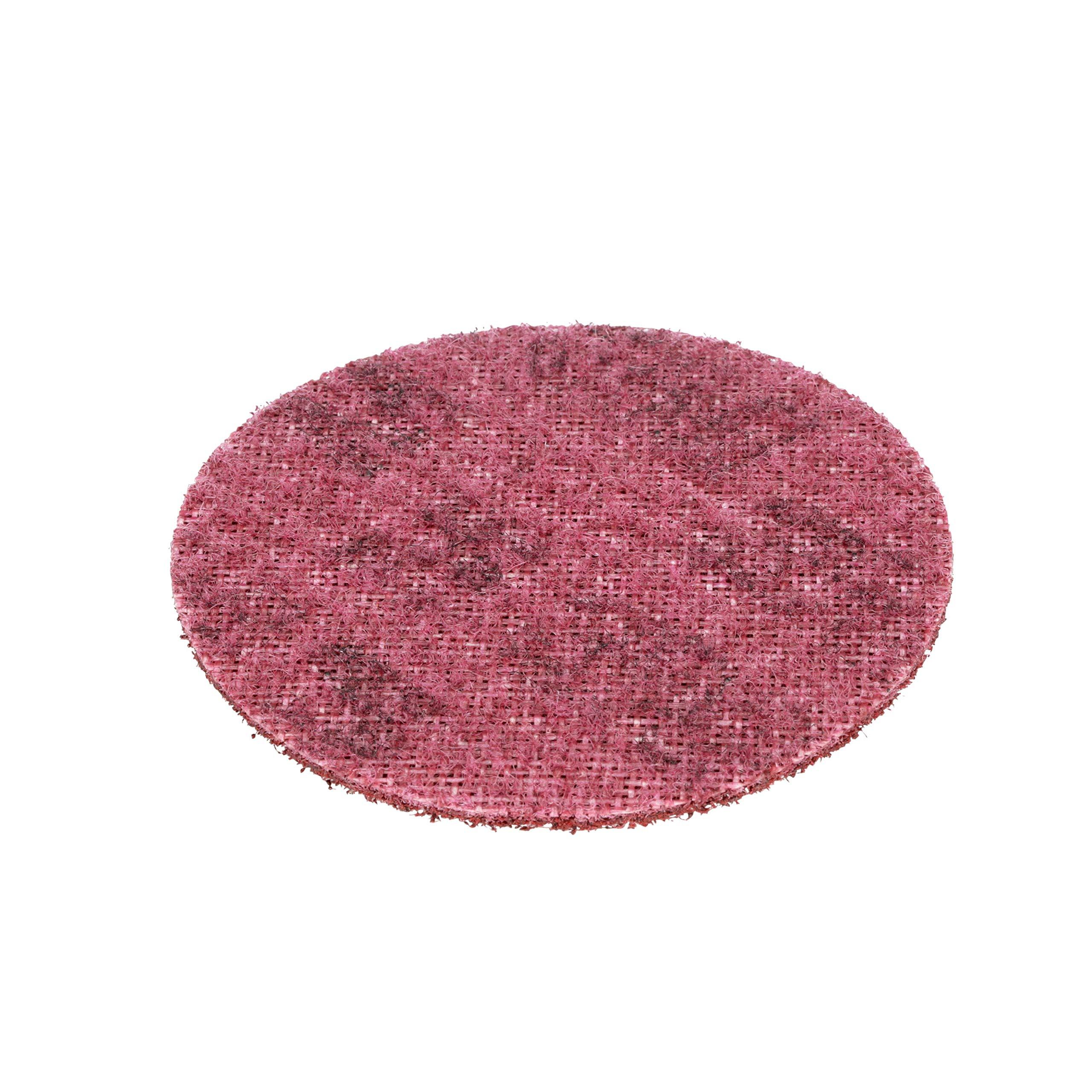 Scotch-Brite(TM) Surface Conditioning Disc, Hook and Loop Attachment, Aluminum Oxide, 4-1/2 Diameter, Medium Grit (Pack of 10)