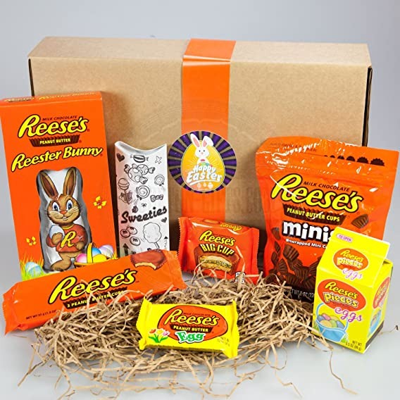 Reeses ultimate easter gift box bunny minis pieces eggs reeses ultimate easter gift box bunny minis pieces eggs small egg negle