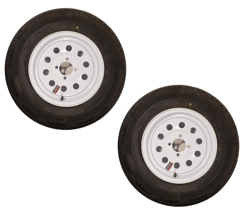 Bias Ply Tires >> Amazon Com 2 Pack Bias Ply Trailer Tire 175 80d13 Lrc 13x4