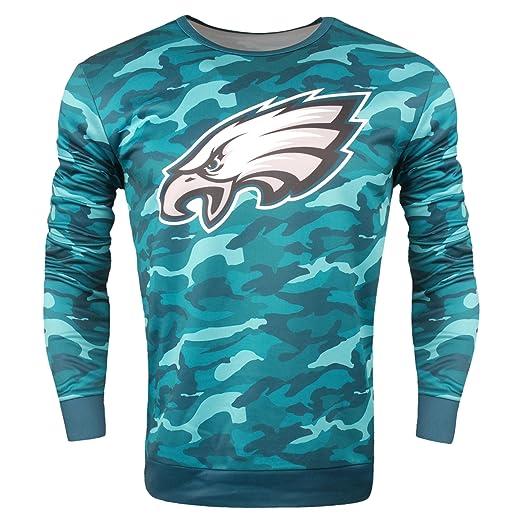 save off 3821d 53202 Amazon.com: NFL Philadelphia Eagles Camo Sweatshirt: Clothing