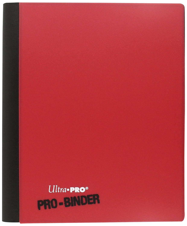 Ultra Pro - Portfolios - Pro-binder - Blanc & Rouge - 20 Pages De 8 Cases 84025