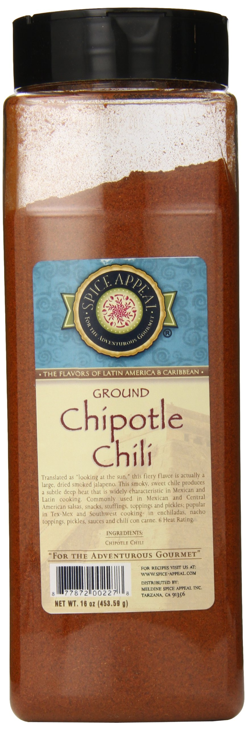Spice Appeal Chipotle Chili Ground, 16 Ounce