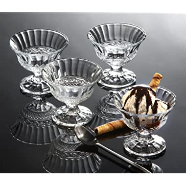 Renaissance Ice Cream Bowls, Set of 4
