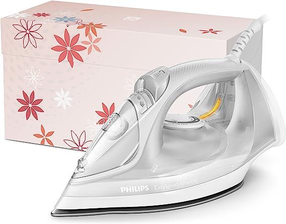 Philips EasySpeed Adv GC2675/85 - Plancha Ropa Vapor, 2400 W, Golpe Vapor 180 g, Vapor Continuo 40 g, Suela Ceramica, Antical Integrado: Philips: Amazon.es: Hogar