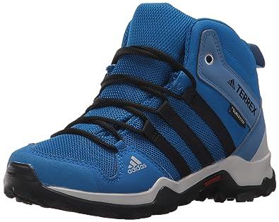 online retailer 1d311 ce2e6 adidas outdoor Unisex-Kids Terrex AX2R Mid CP K, Black/Black ...