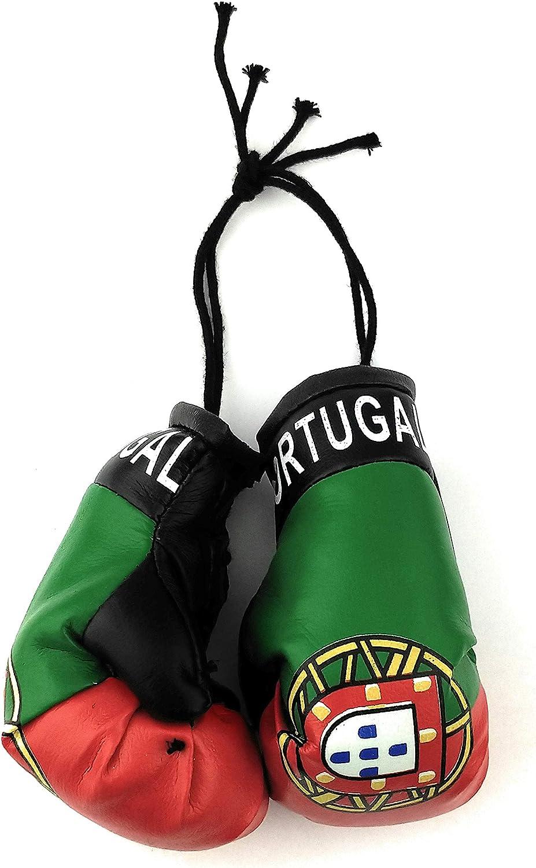 CAR Mini Boxing Glove POLAND Flag Rear Mirror Hanger Hanging Accessory x1 Glove