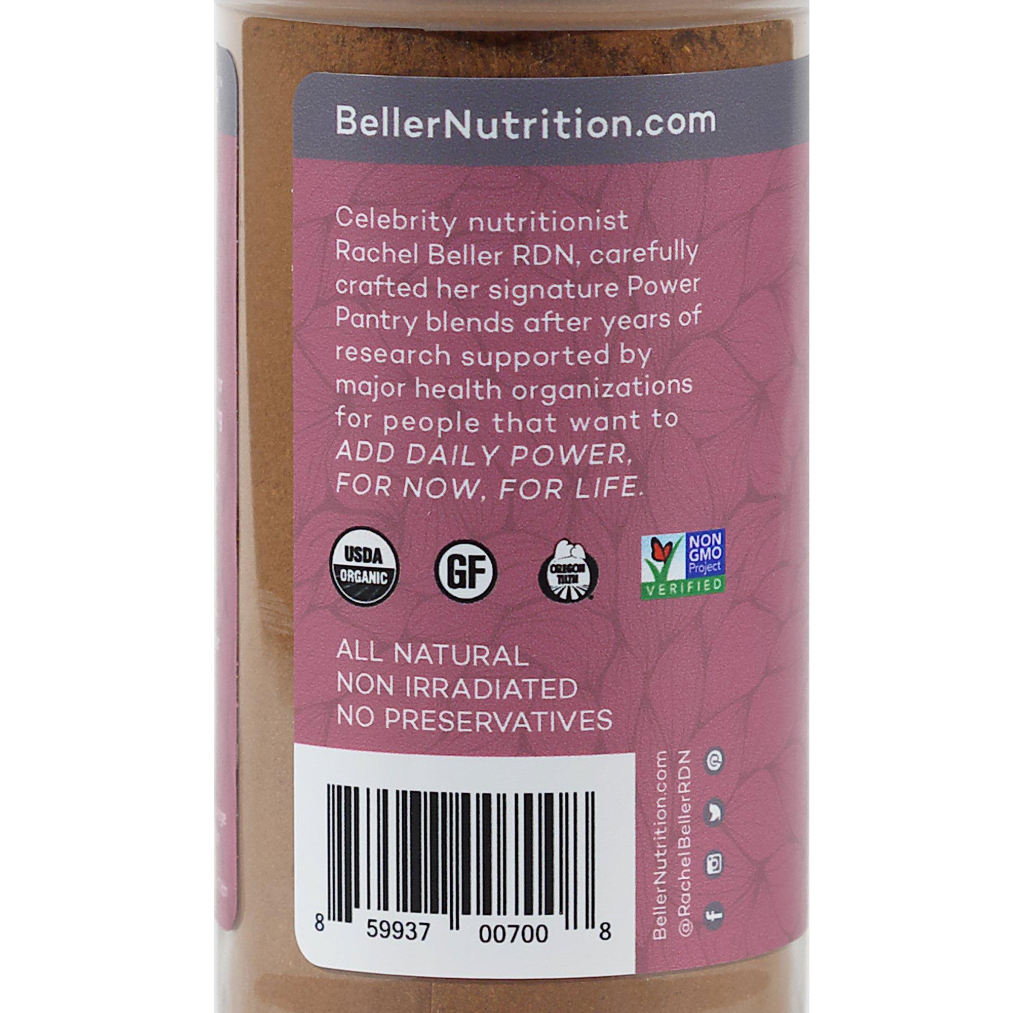 Rachel Beller's Power Pantry CinnaPeel Spicer - All organic Ceylon cinnamon, orange peel, and ginger spice blend, 3.4 ounce by Rachel Beller's Power Pantry (Image #4)