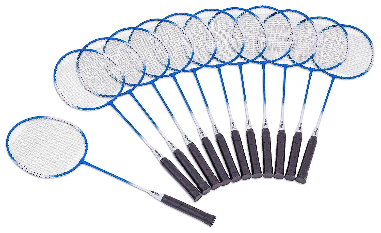 Betzold Sport 35483 - Badminton Schul-Set - 12 hochwertige Schlä ger, Federball, ohne Tasche