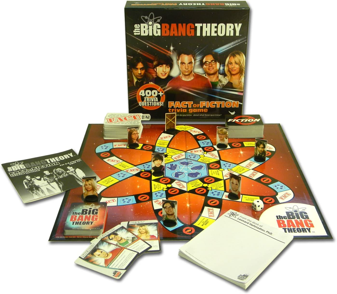 The Big Bang Theory Fact or Fiction Trivia Game: Amazon.es: Juguetes y juegos