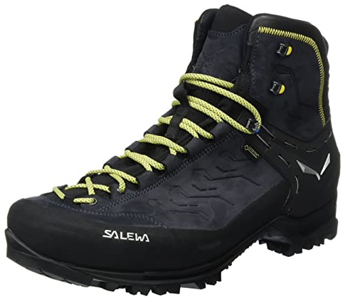 brand new 6493b 5ce6a Salewa Herren Ms Rapace GTX Trekking- & Wanderstiefel, Night Black-Kamille,  7.5 UK