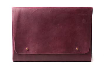9ae04ea9128d Amazon.com: InCarne Leather Laptop Sleeve Leather Cover Case Leather ...
