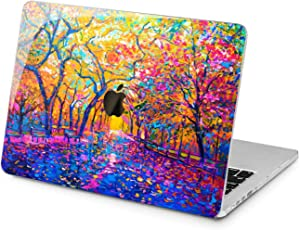 "Cavka Hard Shell Case for Apple MacBook Pro 13"" 2019 15"" 2018 Air 13"" 2020 Retina 2015 Mac 11"" Mac 12"" New Cover Design Bright Autumn Artwork Painting Colorful Plastic Print Protective Laptop Nature"