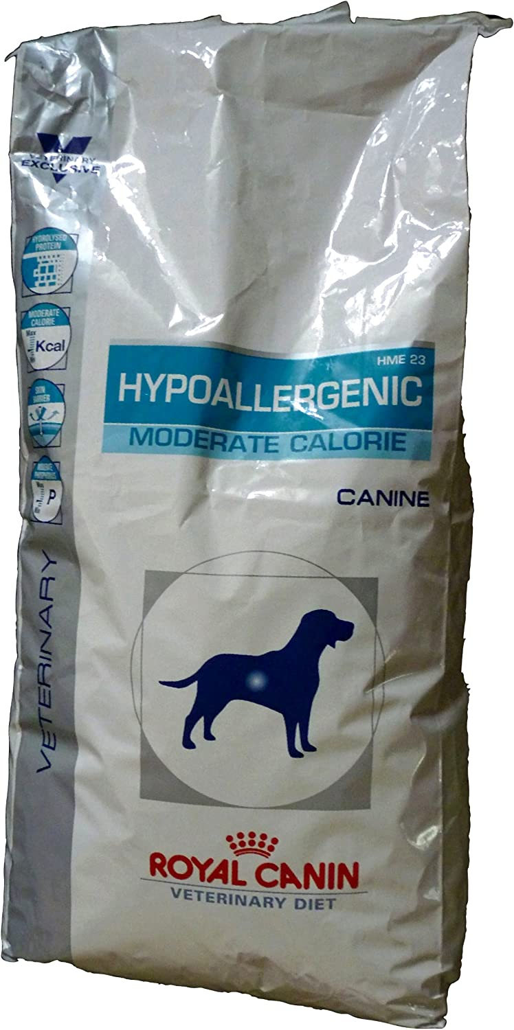 ROYAL CANIN Alimento para Perros Hypoallergenic Moderate Calorie HME23-14 kg