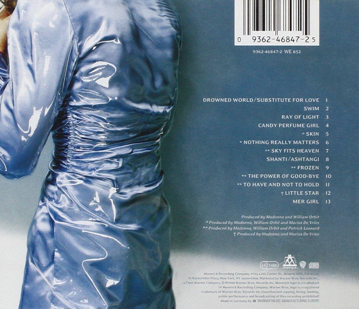 Madonna Ray Of Light Amazoncom Music