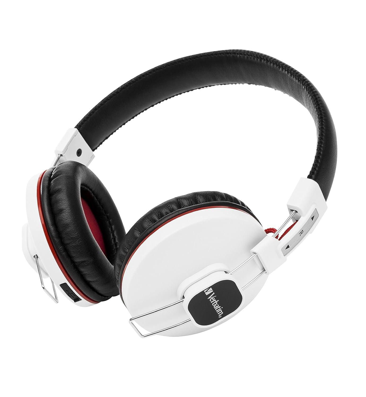 Verbatim Padiglione auricolare Stereofonico Senza fili Bianco auricolare per telefono cellulare Amazon Elettronica