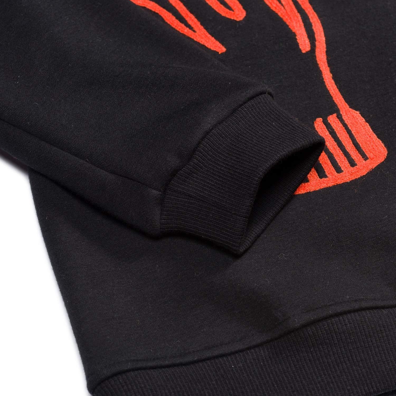 Girls Sweaters Boys Sweaters Boys Pullover Hoodies Plus Velvet 3-16 Years