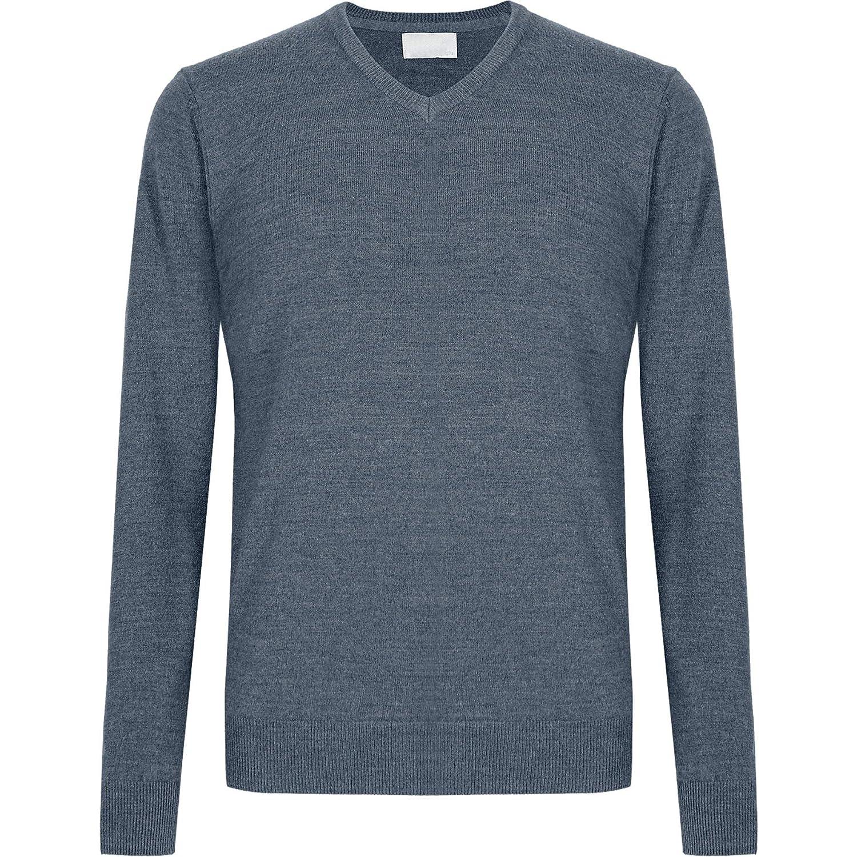 Ex Debenhams Mens Cashmere Jumper V Neck Cashmilon Soft Knit Sweater Pullover Clothing Jumpers Cardigans Sweatshirts [ 1500 x 1500 Pixel ]