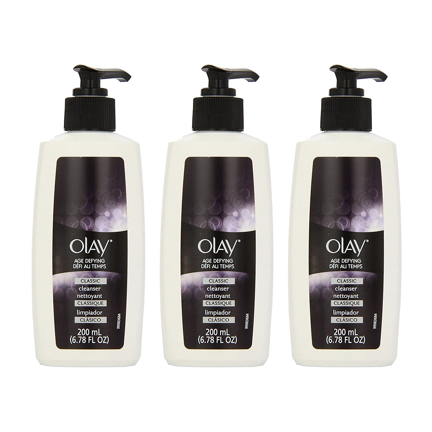 Amazon.com : Olay Age Defying Classic Cleanser, 6.8 Fluid Ounce (Pack of 3) : Facial Cleansing Products : Beauty