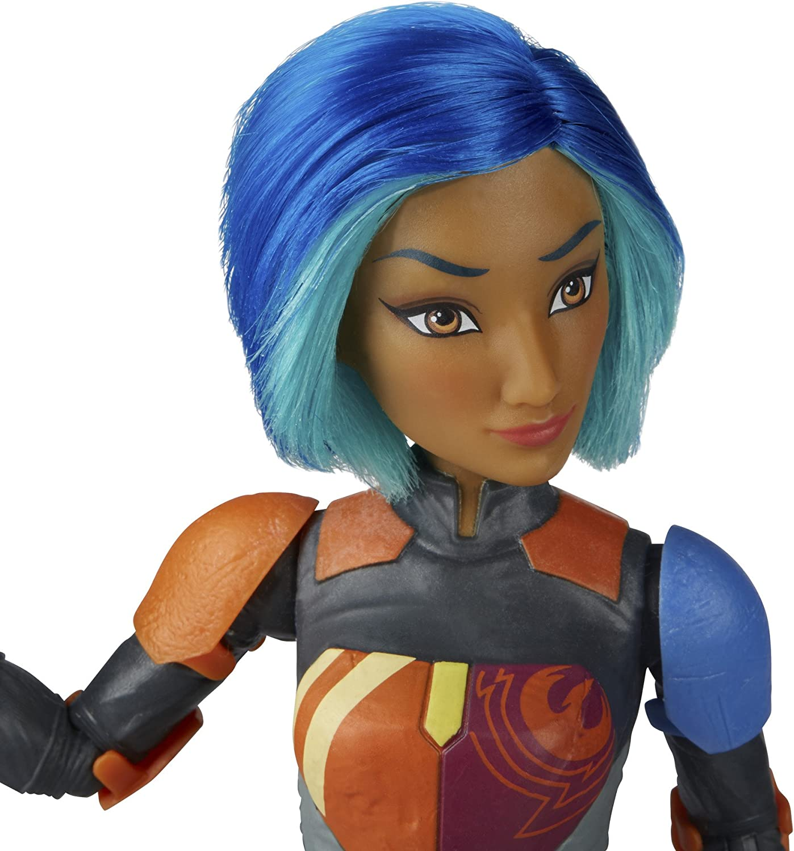 Disney Hasbro Star Wars Forces du destin Sabine Wren action figure doll