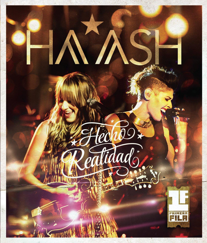 DVD : HA-ASH - Ha-ash Primera Fila: Hecho Realidad (DVD)