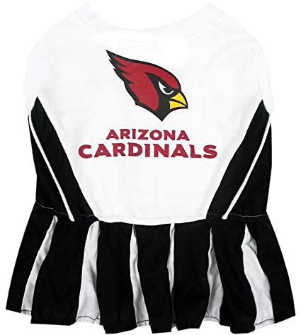 30c370e35 Amazon.com   Arizona Cardinals NFL Cheerleader Dress For Dogs - Size ...