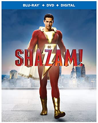 Amazon com: Shazam! (Blu-ray + DVD + Digital Combo Pack) (BD