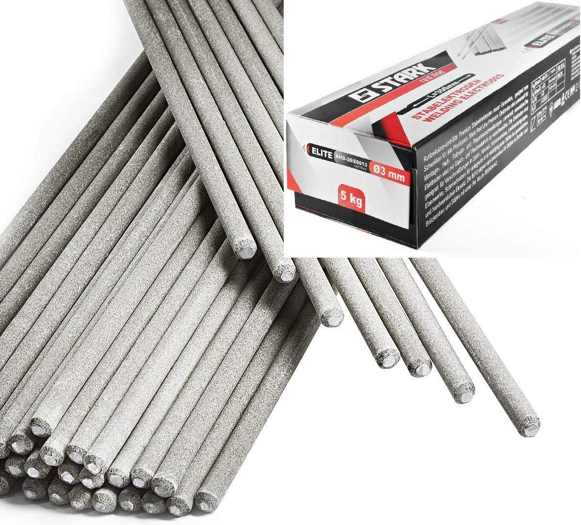 STARK Electrodos Rutilo para Soldadura 5 kg - 185 piezas