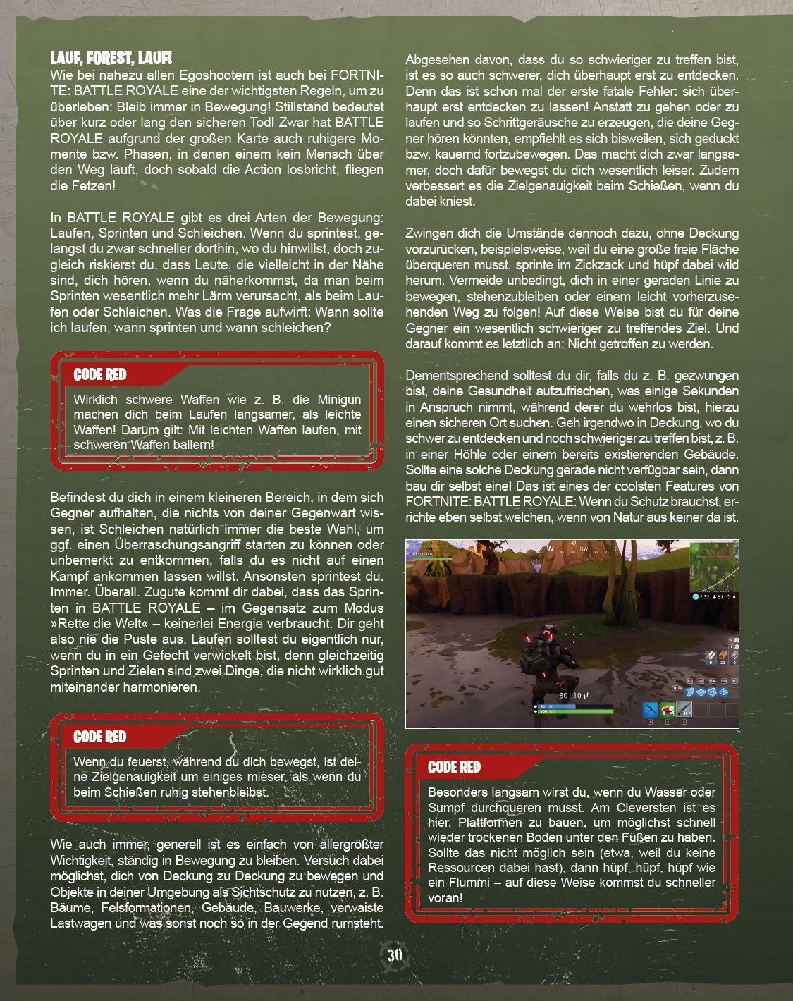 CODE RED: Das ultimative inoffizielle Strategiebuch zu Fortnite ...